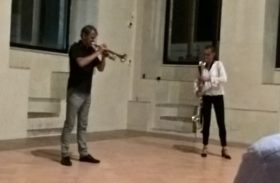 Markus Stockhausen e Tara Bouman alla sala Podiani di Perugia. Sulle onde della conoscenza